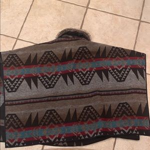 Forever 21 Jackets & Coats - Aztec Poncho